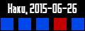 Haku route 2015-06-26 Haku